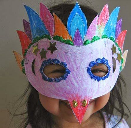 Mardi gras activities for kids mums make lists for Mardi gras masks crafts