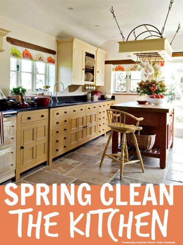 Spring Clean The Kitchen