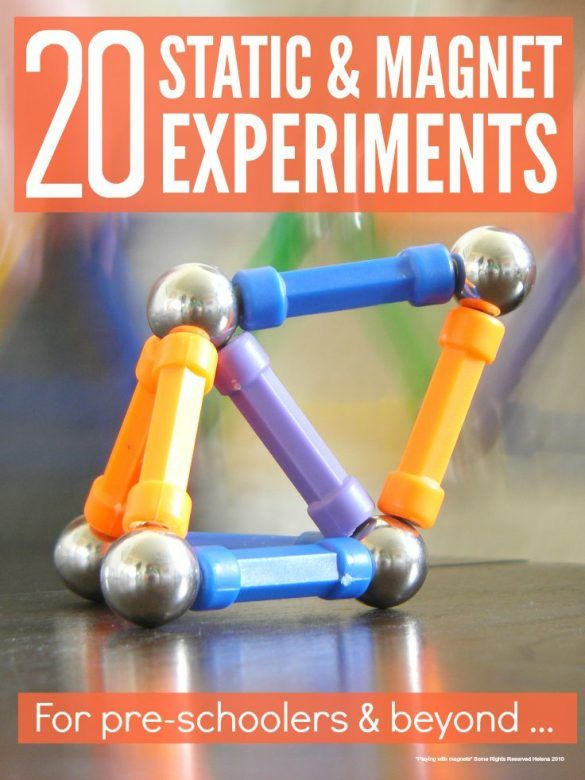 science experiments fun magnetism magnet magnets projects cool play pre easy