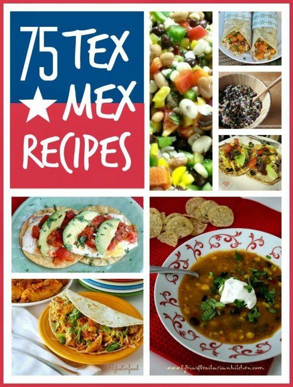Tex mex recipes ... 75 brilliant tex mex recipes, enchiladas, tortillas, burritos the lot!