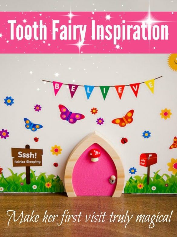 Tooth Fairy Inspiration - how to make the Tooth Fairy visit magical