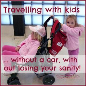 Travelling with kids without the car 1