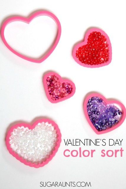 Valentines Day Crafts for Kids ... A super simple Valentines Day fine motor activity