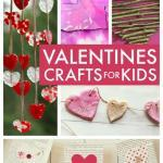 Valetine crafts for kids - easy Valentine crafts for toddlers, preschool and primary / elementary school kids to make to celebrate Valentine's Day #Valentine #ValentinesDay #ValentinesDay2018 #KidsCrafts #KidsCraftIdeas #KidsCrafting