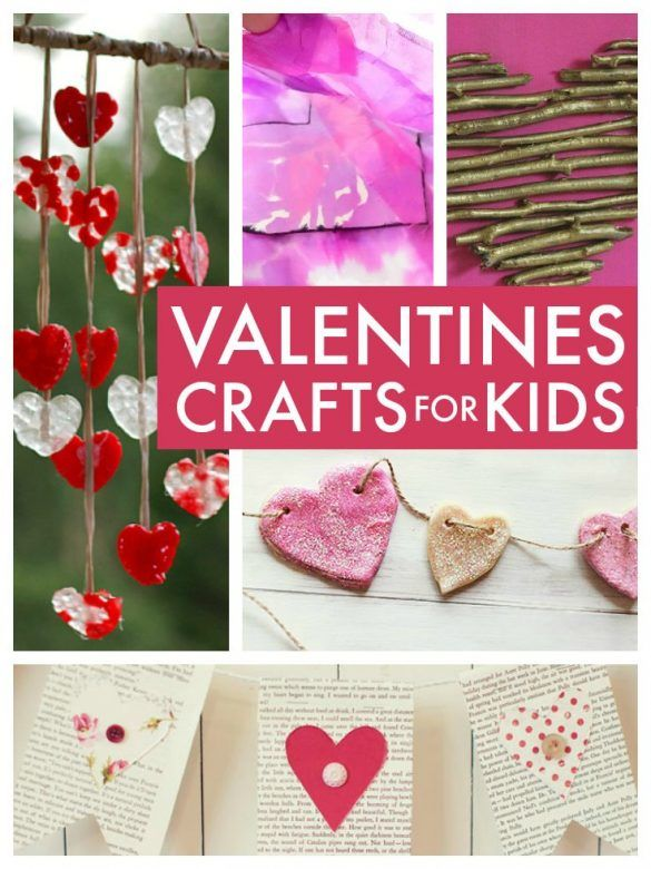 Valentine 39 s day crafts for kids mums make lists for Kids valentines day craft