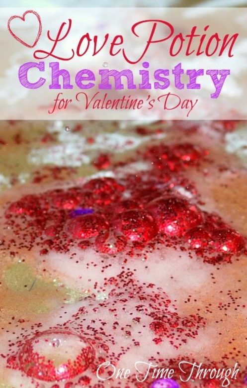 Valentines Day Craft for Kids ... Making Valentines Love Potions