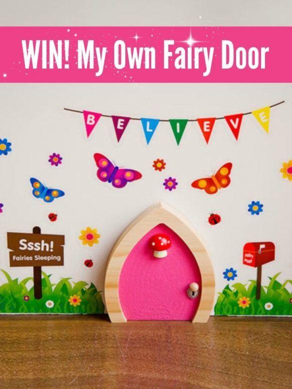 WIN My Own Fairy Door Set, My Own Fairy Door, Fairy Door