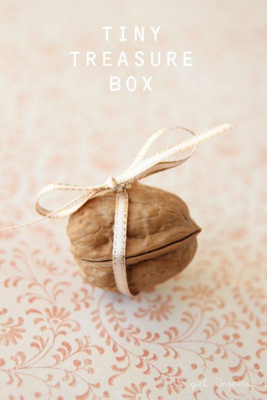Walnut Shell Baby Tooth Box, Tooth Fairy Ideas and Inspiration