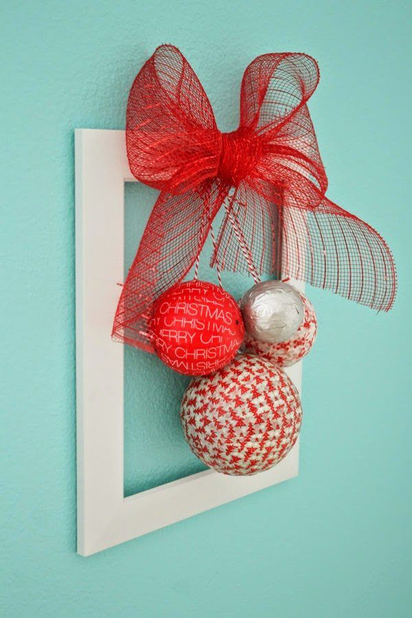 Washi Tape Christmas Wreath