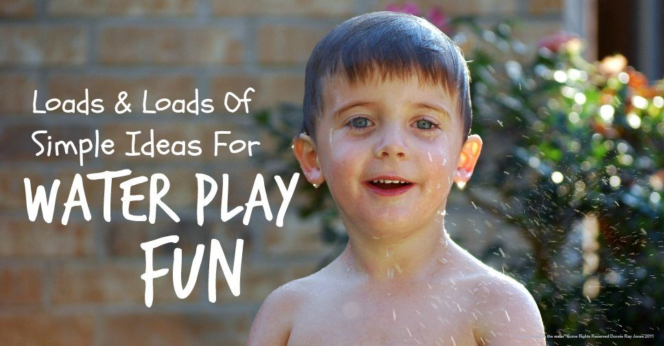 Water play fun for kids