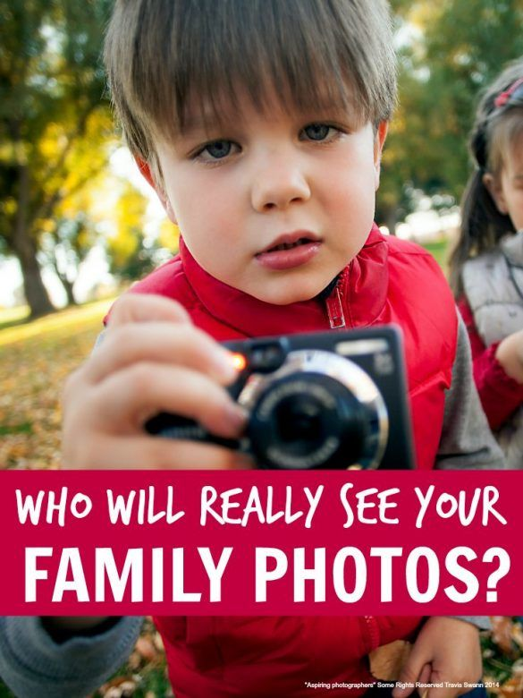 Who will see your family photos?