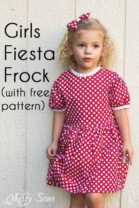 Free Girls Dress Patterns Mumsmakelists Com
