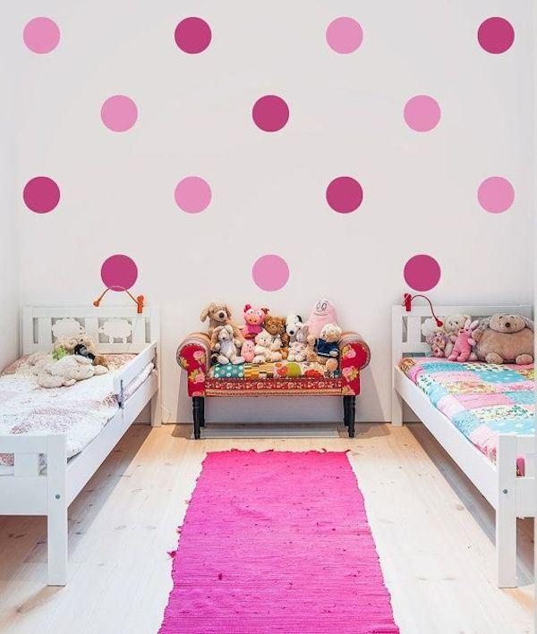 giant-pink-polka-dots wall decals