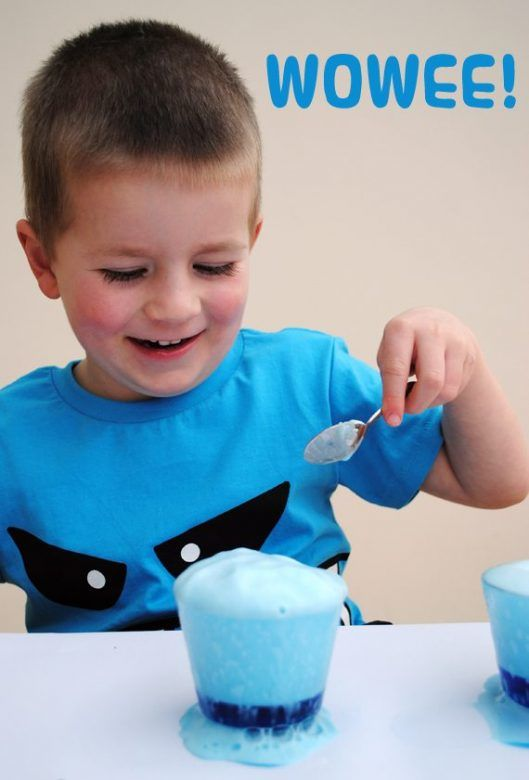 Experiments that go fizz - science fun for kids